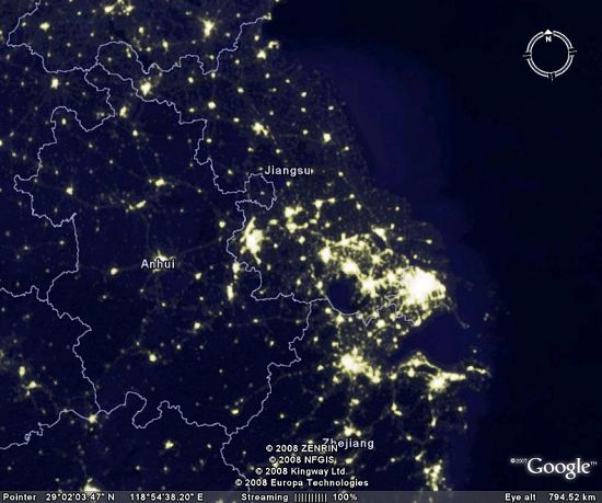google夜景地图-图片专辑-文汇网