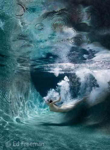 唯美的水下人體攝影