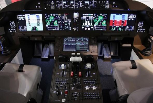 曝国产客机c919驾驶室