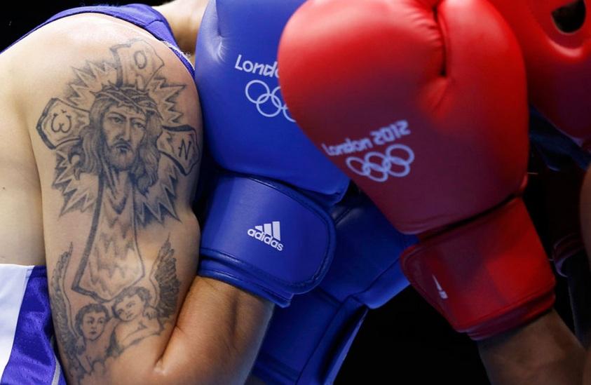 奥运选手爱纹身