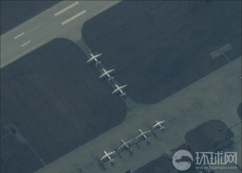 美国卫星拍到运20测试照