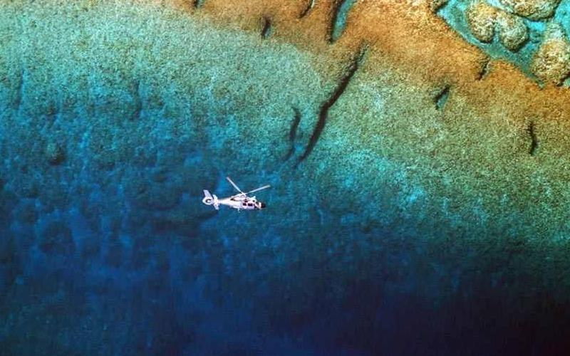 镜头实拍西沙群岛