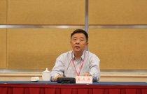 參訪團團長、香港大公文匯傳媒集團董事姜亞兵在啟動儀式上致詞。(大公報記者肖剛 攝)