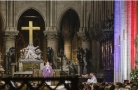 巴黎聖母院舉行追思彌撒